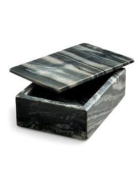 Nordstjerne - Tray - Marble Box Large - Grey Marble