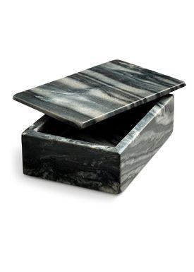 Nordstjerne - Fad - Marble Box Large - Grå Marmor