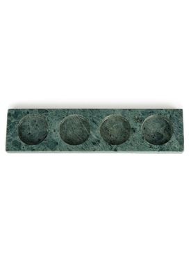 Nordstjerne - Candle Holder - Marble Candle Holder - Green Marble