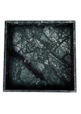 Nordstjerne - Fad - Marble Tray Large - Grøn Marmor