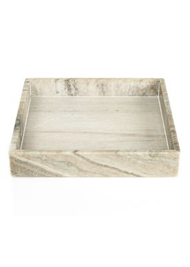 Nordstjerne - Tray - Marble Tray Large - Brown Marble
