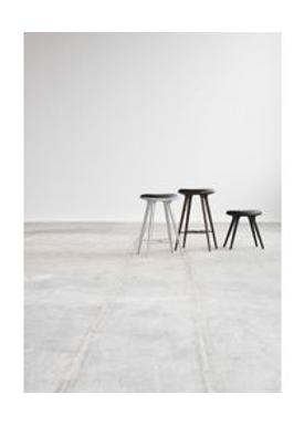 Mater - Chair - High Stool 74 - Aluminium