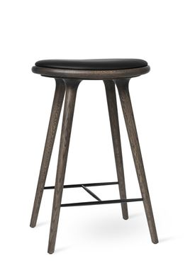 Mater - Chair - High Stool 69 - Sirka Grey Stained Oak