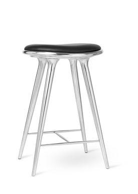 Mater - Chair - High Stool 69 - Aluminium