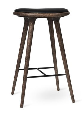 Mater - Chair - High Stool 74 - Dark Stained Oak