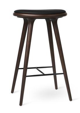 Mater - Chair - High Stool 74 - Dark Stained Beech