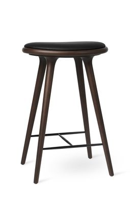 Mater - Chair - High Stool 69 - Dark Stained Beech