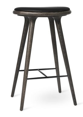 Mater - Chair - High Stool 74 - Sirka Grey Stained Oak
