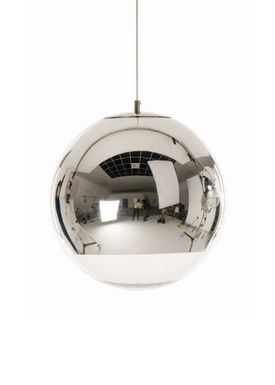 Tom Dixon - Lampe - Mirror Ball 40 Pendant - Krom