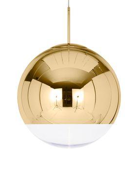 Tom Dixon - Lampe - Mirror Ball 50 Pendant - Guld