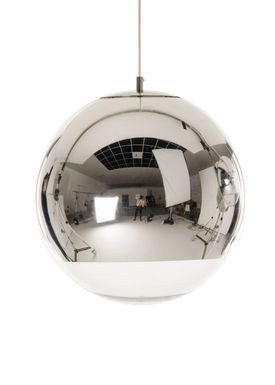 Tom Dixon - Lampe - Mirror Ball 50 Pendant - Krom