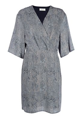 Modström - Dress - Sara Print Dress - Blue Snake