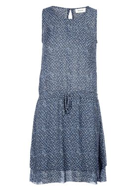 Modström - Kjole - Victoria Print Dress - Urban Tribe Blå