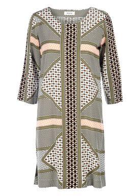 Modström - Kjole - Villa Dress - African Scarf Print