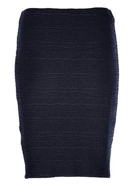 Modström - Nederdel - Safron Skirt - Navy Sky