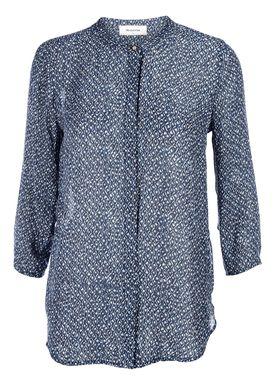 Modström - Skjorte - Victoria Print Shirt - Urban Tribe Blå