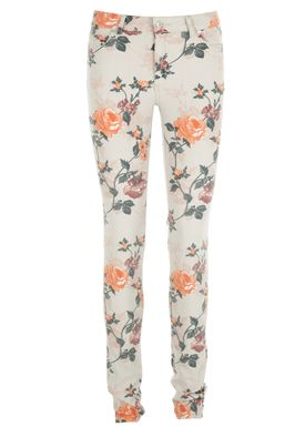 Von Flower Jeans Blomster Print