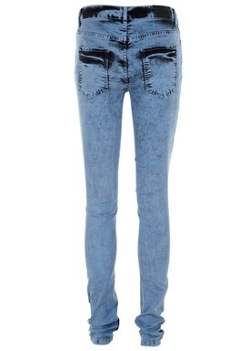 Von Tie Dye Jeans Tie Dye Blå