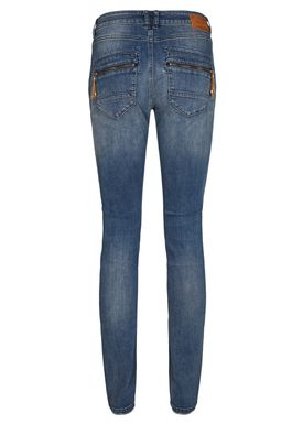Mos Mosh - Jeans - Naomi Embroidery Jeans - Blue Denim