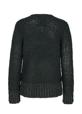 Mos Mosh - Stickat - Anna Sequins Knit - Dark Teal