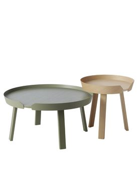 Muuto - Bord - Around Table - Small - Støvet Grøn