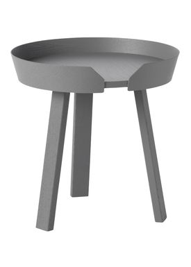 Muuto - Bord - Around Table - Small - Mørkegrå
