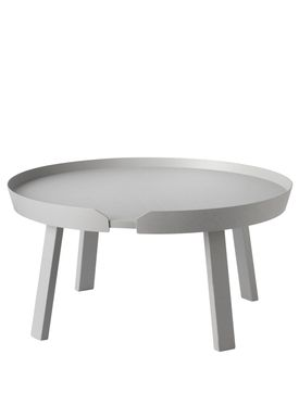 Muuto - Bord - Around Table - Large - Grå