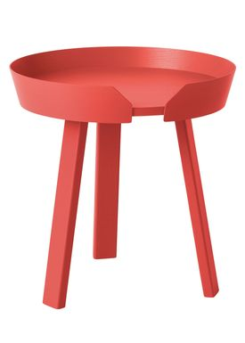 Muuto - Bord - Around Table - Small - Tangerine
