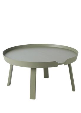 Muuto - Bord - Around Table - Large - Støvet Grøn