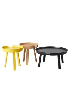Muuto - Bord - Around Table - Large - Sort