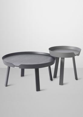 Muuto - Bord - Around Table - Large - Anthracite
