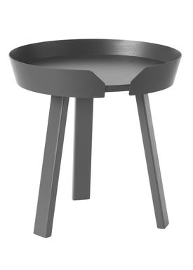 Muuto - Bord - Around Table - Small - Anthracite