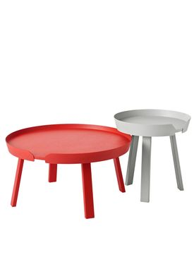 Muuto - Bord - Around Table - Large - Tangerine