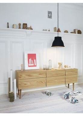 Muuto - Bord - Reflect Sideboard - Sort - Large