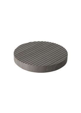 Muuto - Bordskåner - Groove Trivet - Small - Grå Marmor