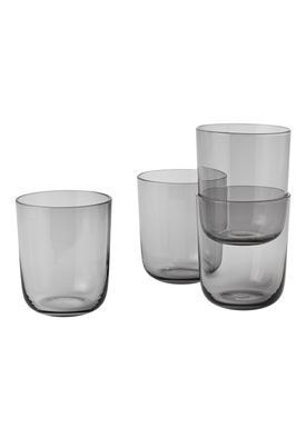 Muuto - Glas - Corky Glasses - Set of 4 - Røget - Tall
