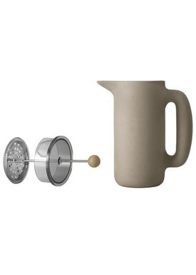 Muuto - Kande - Push Coffee Maker - Stone Grey