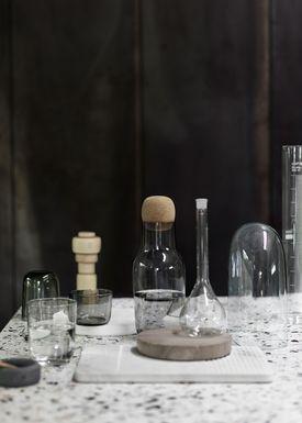Muuto - Karaffel - Corky Carafe - Røget Glas/Kork
