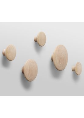 Muuto - Hooks - The Dots - Giftbox - Natural Oak