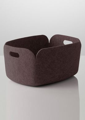 Muuto - Basket - Restore Basket - Brown
