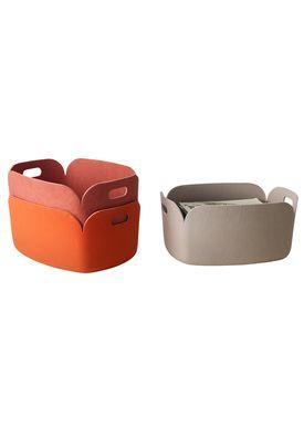 Muuto - Kurv - Restore Basket - Orange