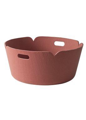 Muuto - Kurv - Restore Round Basket - Lyserød