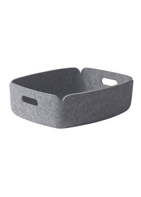 Muuto - Basket - RESTORE TRAY - Grey