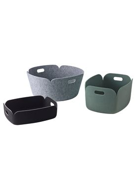 Muuto - Basket - RESTORE TRAY - Sort