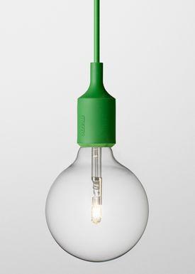 Muuto - Lampe - E27 - Grøn