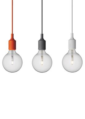 Muuto - Pendants - E27 - Light Grey