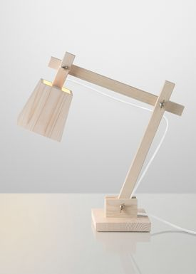 Muuto - Lamp - Wood Lamp - White