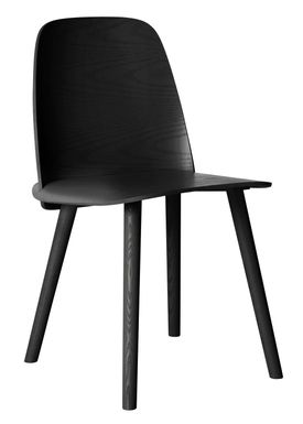 Muuto - Stol - Nerd Chair - Sort