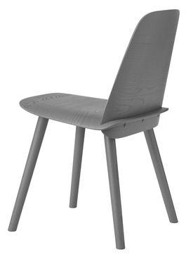 Muuto - Stol - Nerd Chair - Mørk Grå