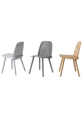Muuto - Stol - Nerd Chair - Grå